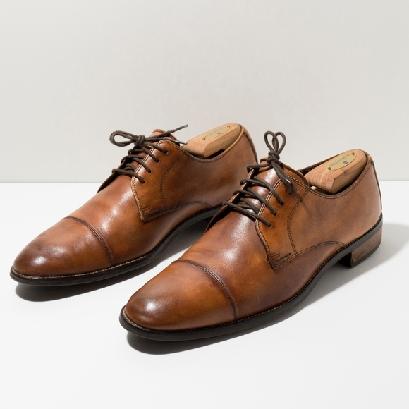 Cole Haan Grand OS Cap Toe Derby Dress Shoes